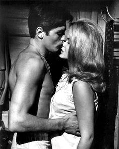 Alain Delon, Once A Thief (1965) ~ Ann-Margret