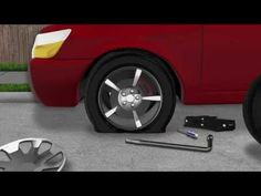 In this informative short video, we show you how to change a flat tyre. So that you can get back on the road rolling again in no time. 3d Video, Flat Tire, Change, Warning Signs, Survival, Car, Youtube, Automobile, Autos