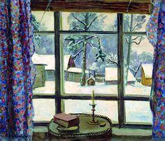 Pyotr Konchalovsky, The window of the poet, 1935.