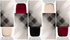 Burberry nail polishes for Fall 2013