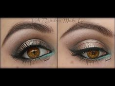 Make up Brown Eyes-gold/teal Teal Makeup, Makeup For Brown Eyes, Love Makeup, Makeup Tips, Beauty Makeup, Makeup Looks, Hair Makeup, Fun Makeup, Makeup Ideas