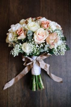 Wonderful Ideas For Personalising Wedding Bouquets