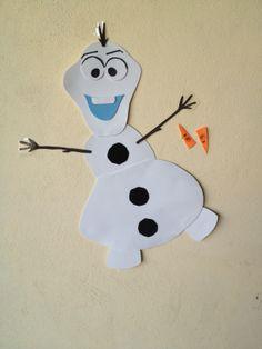Ponle la nariz a Olaf (Frozen)