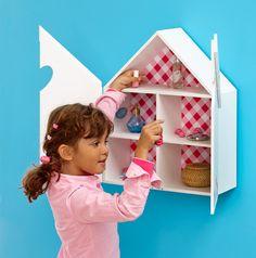 Letterbak huis Pien van lief!: onze favoriet voor de meisjeskamer! #babykamer #decoratie #girlsroom