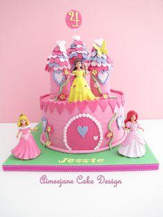 Princesas Disney. Tartas originales. …