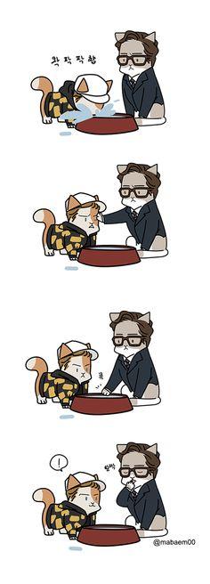 kingsman the cat service