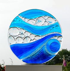 Ailsa is a ceramic and glass artist based in Whitby, North Yorkshire specialising in fused glass art and ceramic sculpture Glass Wall Art, Sea Glass Art, Stained Glass Art, North Yorkshire, Glass Fusion Ideas, Glass Fusing Projects, Glass Art Pictures, Glass Art Design, Broken Glass Art