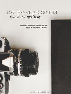 O que o meu blog tem - que o seu não tem? - Sernaiotto