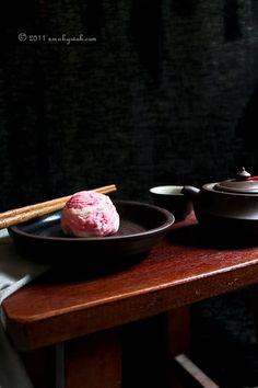 豆沙咸蛋酥 Chinese Red Bean and Salted Egg Yolk Flaky Pastries