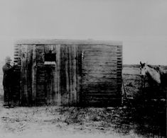 Wooden jailhouse in Wyoming Territory. Hart Merriam, 1893 Wooden jailhouse in Wyoming Territory. History Photos, Us History, American History, Old Pictures, Old Photos, Rare Photos, Vintage Photos, Old West Outlaws, Oregon Trail
