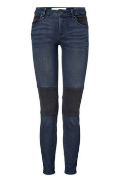 100 best new fall denim: the moto skinny jean