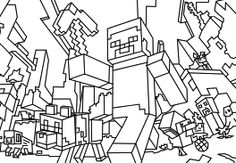 print minecraft coloring pages Coloring Pages For Boys, Coloring Pages To Print, Free Coloring Pages, Printable Coloring, Coloring Sheets, Coloring Books, Kids Coloring, Minecraft Crafts, Minecraft Party