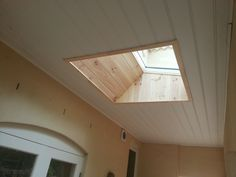 We installed 2 VELUX Fixed S01 Skylights into the verandah of this Cottesloe home.  The skylights are positioned in front of the french doors, which light up into the rooms beyond. We fitted pine lining boards to the skylight shafts to match the existing verandah pine lined ceiling.  VELUX Skylights Perth