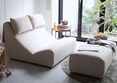 シアタールームに最適なリラックスソファ「Relaxed Sofa 2人掛けロングオットマンセット|ソファ専門店 NOYES