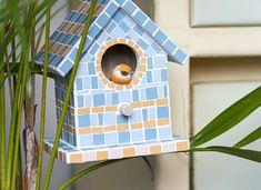 Creations - Artemio Creations, Bird, Outdoor Decor, Home Decor, Splash Of Color, Birdhouse, Homemade Home Decor, Birds, Interior Design