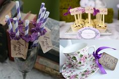Alice in Wonderland party ideas and in the color I want for a bridal shower
