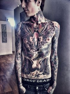 Oliver Sykes beautiful art