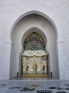 Sheikh Zayed Mosque Door