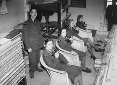 RAF Operation's Room, Duxford Airbase, Cambridge, England - Battle of Britain 1940