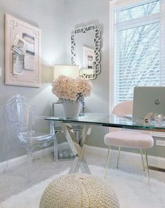home Office Decor Home Design, Home Office Design, Home Office Decor, Interior Design, Office Designs, Office Ideas, Home Office Space, Study Office, Beauty Room