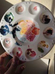 """frost-tea: """" my palettes are always prettier than what I paint """""""