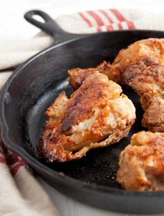 Sweet Tea Oven Fried Chicken.