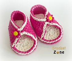 Peek-A-Boo Sandals By MA Santos - Free Crochet Pattern - (ravelry)