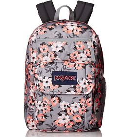 Looking for JanSport Digital Student Laptop Backpack- Sale Colors (Coral Sparkle Pretty ? Check out our picks for the JanSport Digital Student Laptop Backpack- Sale Colors (Coral Sparkle Pretty from the popular stores - all in one. Backpacks For College Girl, Best Backpacks For School, Backpacks For Sale, Girl Backpacks, Stylish Backpacks, Mochila Jansport, Jansport Backpack, Laptop Backpack, Sewing