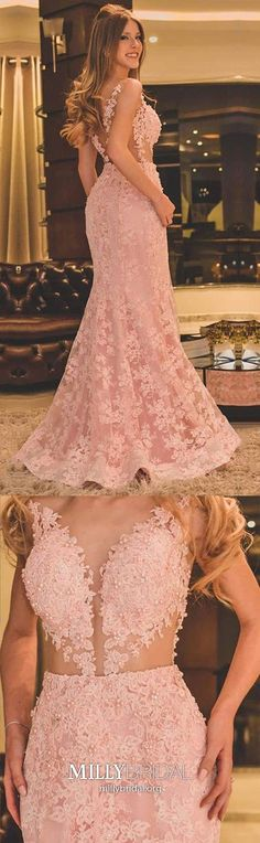 Long Prom Dresses Mermaid,Pink Formal Evening Dresses Lace,Modest Military Ball Dresses Sleeveless,Elegant Pageant Graduation Party Dresses For Girls Spring Formal Dresses, Vintage Formal Dresses, Formal Dresses For Teens, Elegant Prom Dresses, Formal Evening Dresses, Long Dresses, Evening Gowns, Dresser, Military Ball Dresses