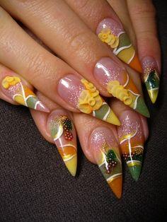Fabulous Floral Nail Art