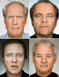 martin schoeller's close up portraits