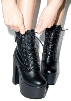 ROC Boots Way Harsh Platform Boots