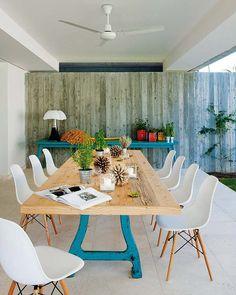 Décor do dia: design e azul convidativos - Casa Vogue | Interiores