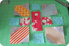 Japanese x and + quilt tutorial | Flickr - Photo Sharing!