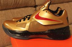 pretty nice c7489 35e85 Nike Zoom KD IV l  Gold Medal  l Release Date Change Popular Shoes,