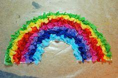 that artist woman: Tissue Paper Rainbows