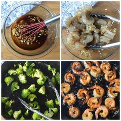 Honey garlic butter shrimp is a gourmet meal with no effort. Perfect for those busy weeknights or elegant enough for company. Best Shrimp Recipes, Shrimp Recipes For Dinner, Salmon Recipes, Seafood Recipes, Shrimp And Broccoli, Fresh Broccoli, Gourmet Recipes, Cooking Recipes, Healthy Recipes