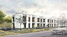 Apartments building #house #apartments #building #architecture #living #render #visualization