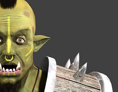 "Check out new work on my @Behance portfolio: ""Orc em 3D"" http://be.net/gallery/49111971/Orc-em-3D"