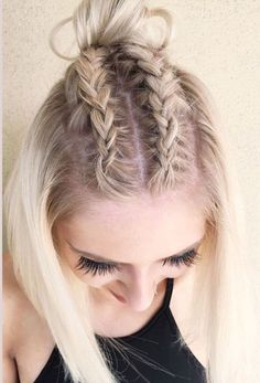 15 Dazzling Ideas of Braids with Knots for Short Hair