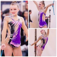Rhythmic gymnastics leotard (photo by Cybile C.)