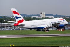 - Photo taken at London - Heathrow (LHR / EGLL) in England, United Kingdom on May Airbus A380, Vintage Air, Commercial Aircraft, British Airways, Aircraft Pictures, Air Travel, Pilot, Airports, Jets