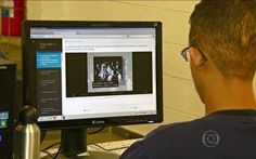 Globo TV - Bom dia Brasil: Ferramenta da internet desafia conhecimentos de estudantes e ajuda na preparação do Enem