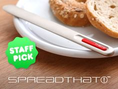 An amazing butter knife that is heated - without the use of electricity nor batteries nor hot water - for your favorite spreads!