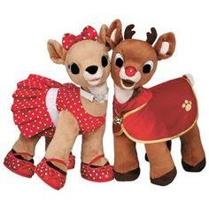 Days Till Christmas, Christmas Stuff, Christmas Images, Christmas Ornaments, Custom Teddy Bear, Disney Princess Birthday, Rudolph The Red, Red Nosed Reindeer, Build A Bear