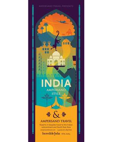 Ampersand Style  Client: Ampersand Travel  We were asked by Ampersand to visualise the essence of their luxury travel services over the Indian Subcontinent and Southeast Asia.  Ampersand are the experts in bespoke holiday experiences. Their high-end service boasts a wealth of insider knowledge and a true passion for their destinations, delivered with luxury and style. To reflect this they were keen to evoke the glory days of luxury travel, capture the multitude of choices on offer...