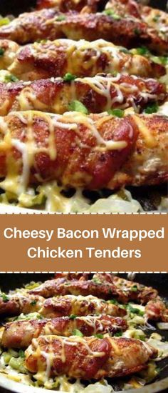 Entree Recipes, Appetizer Recipes, Easy Recipes, Appetizers, Chick Fil A Chicken Sandwich Recipe, Chicken Tender Recipes, Chicken Meals, Bacon Wrapped Chicken Tenders, Great Dinner Recipes