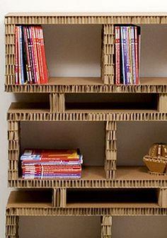 """""""Bookstack""""  Das Regal kann aus einzelnen Elementen beliebig erweitert werden.    Hersteller: A4A Design  Maße: 48 x 100 x 30 cm  Preis: aus Anfrage  www.a4adesign.it"""