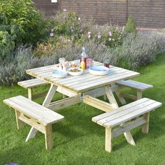 You'll love the Picnic Bench at Wayfair.co.uk - Great Deals on all Garden  products with Free Shipping on most stuff, even the big stuff.