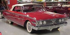 1960 Edsel Ranger convertible with top up.